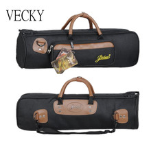 VECKY Thicken Trumpet bag 1200D Oxford Waterproof cloth Shockproof trumpet bag Thicken accompanying Portable bag SOLDOUT(China (Mainland))