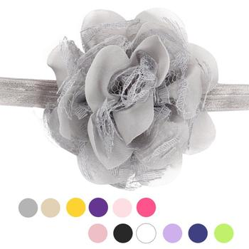 Delicate Hot! 2016 Baby Flower Bow Lace Headband Headwear Hair Band Girl Infant Toddler hair accessories hair ornament Ma8 xsxl