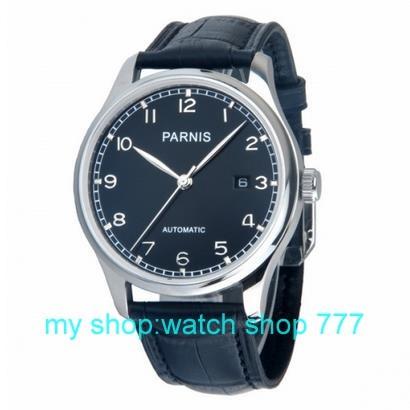 2016 новая мода 43 мм ПАРНИС Азии ST2530 автоматические механические мужские часы Повседневная часы 000285 h