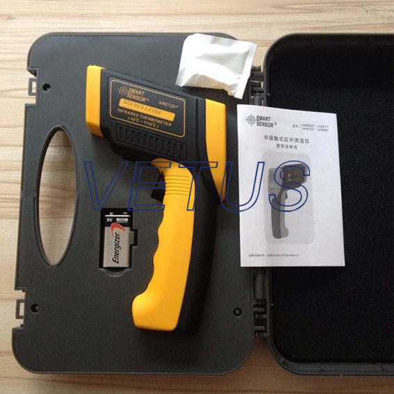 AR872D industrial Infrared Thermometer With high accuracy -50~1050C