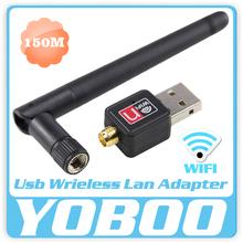 Nuevo llega perfect WiFi dongle Mini 150 Mbps USB WiFi tarjeta de red LAN adaptador de antena Mini PC WiFi adaptador caliente de la venta(China (Mainland))