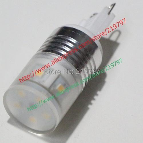 G9 LED bulb 2835 11SMD mini lamps 5W 230LM Aluminum Pendant lights 220V replace halogen lamp Crystal lights+ 4pcs+ Free ship(China (Mainland))