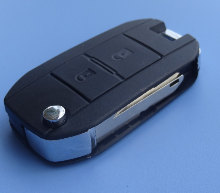1 pc free shipping 2 Button Conversion Remote Flip Key Fob Case for Peugeot 206 207 refit peugeot key(China (Mainland))
