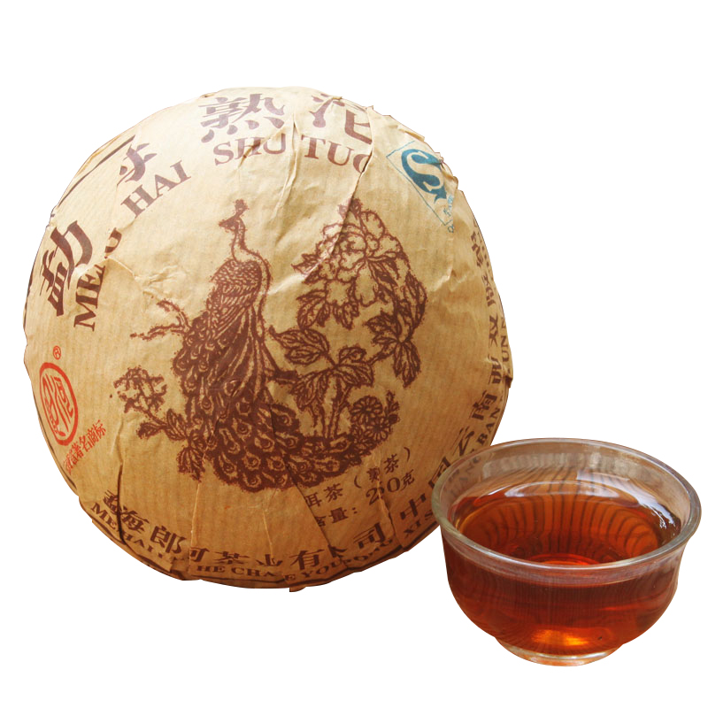 2012 Year Lang River(LangHe) Puer Tea 250g Menghai Cooked Tuo Cha Health Food Ripe Tuo Pu Er Tea Green Food<br><br>Aliexpress