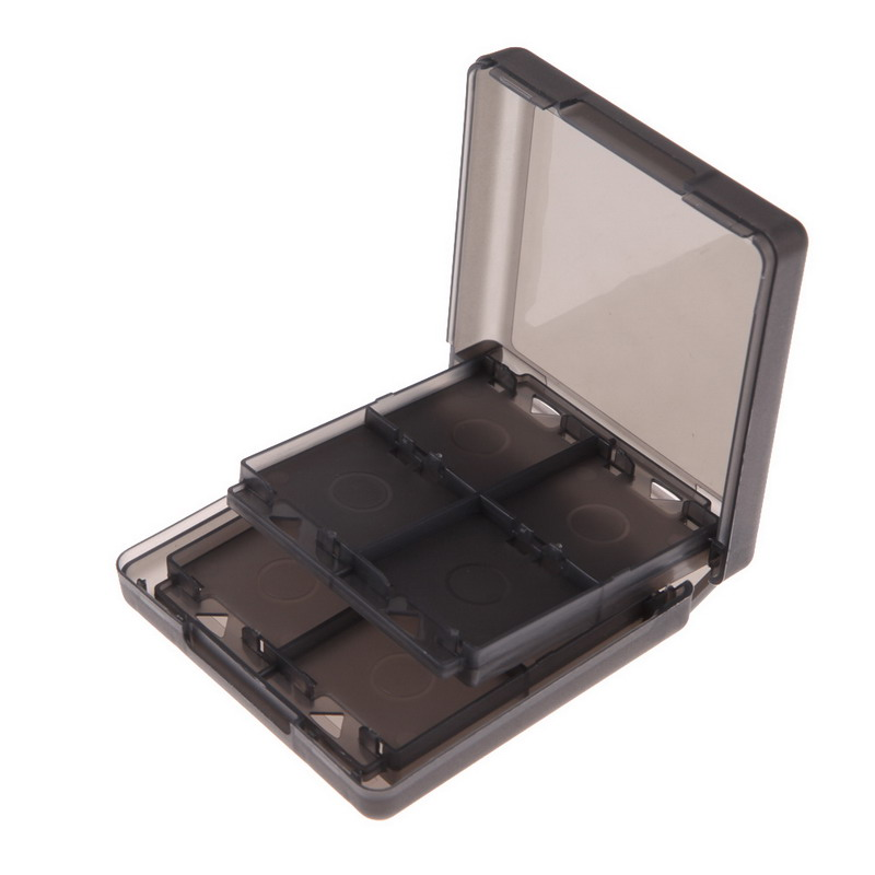FW1S Black 16-in-1 Game Card Case Holder Storage for N-intendo DS D-SI LL/XL Free Shipping<br><br>Aliexpress