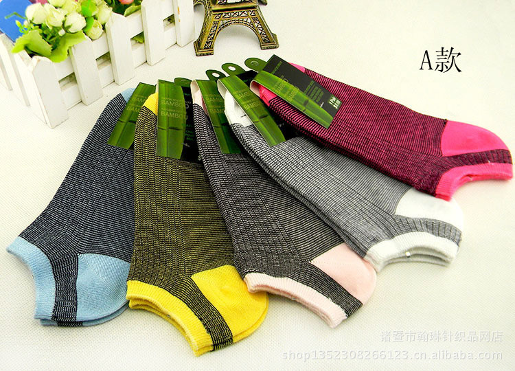 2014 Hot Sale Bamboo Fiber Lover's Boat Socks For Men Women Both Smooth&Soft 5 pairs/lot(China (Mainland))