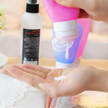 Hot Sale Silicone Travel Bottles Shampoo Shower Gel Lotion Sub-bottling Tube Squeeze Tool #72205(China (Mainland))