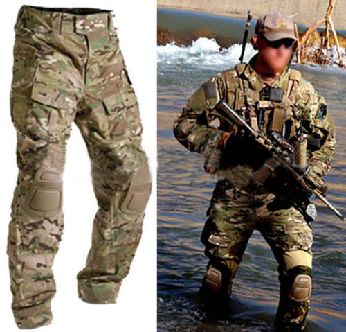 Men Military Army Tactical Gear Airsoft Paintball Hunting ...