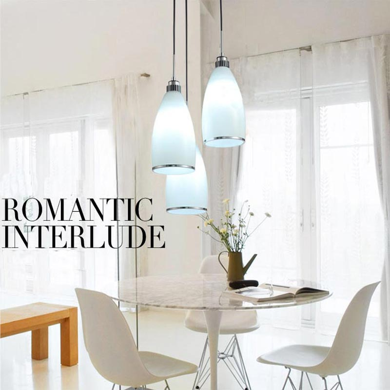 lamparas lustre White Glass abajur Pendant lights Plated Metal Light Fixtures Modern Dining Room E27 220v For Decor Pendant Lamp<br><br>Aliexpress