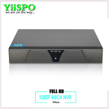 Buy YiiSPO 4ch/8ch CCTV NVR IP Camera Motion Detection ONVIF Full 1080P H.264 HDMI Output 4CH 8CH optional Surveillance System for $32.24 in AliExpress store