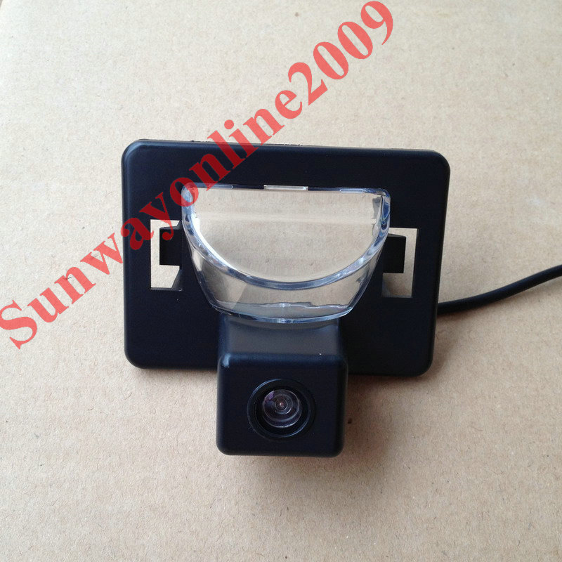 Free shipping!!! CAR REAR VIEW REVERSE BACKUP Mirror Image CAMERA FOR Mazda 5 2005- Present With Guide Line High Quality Camera(China (Mainland))