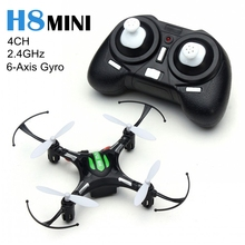 JJRC Afstandsbediening Helikopter H8 Mini Drone 2.4G 4CH 6-Axis Gyro Quadricopter Quadcopter met LED Licht