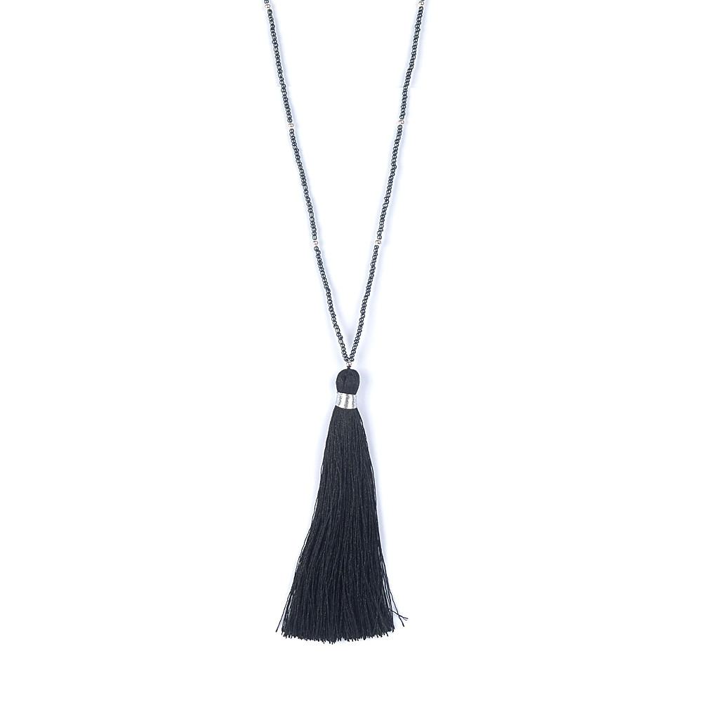 Gagafeel чешские кисточкой ожерелья заявление старинные ручной Воротникe ювелирные изделия макси Joyeria длинные бижутерии цепи роковой подарок 5 цветов