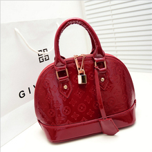 Trendsetter Love The Most Lady Handbags PU Leather Shoulder Bags Exquisite Workmanship Fashion Lock Messenger Bags For Women