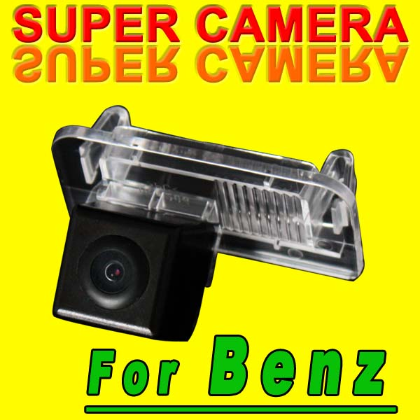CCD car Camera Reverseing Back Up Rear View Parking Security camera for BENZ B180 B200(China (Mainland))