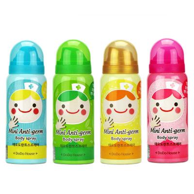 DoDoHouse lot Mini cute doll hut bactericidal deodorant spray 4 optional 65ml(China (Mainland))