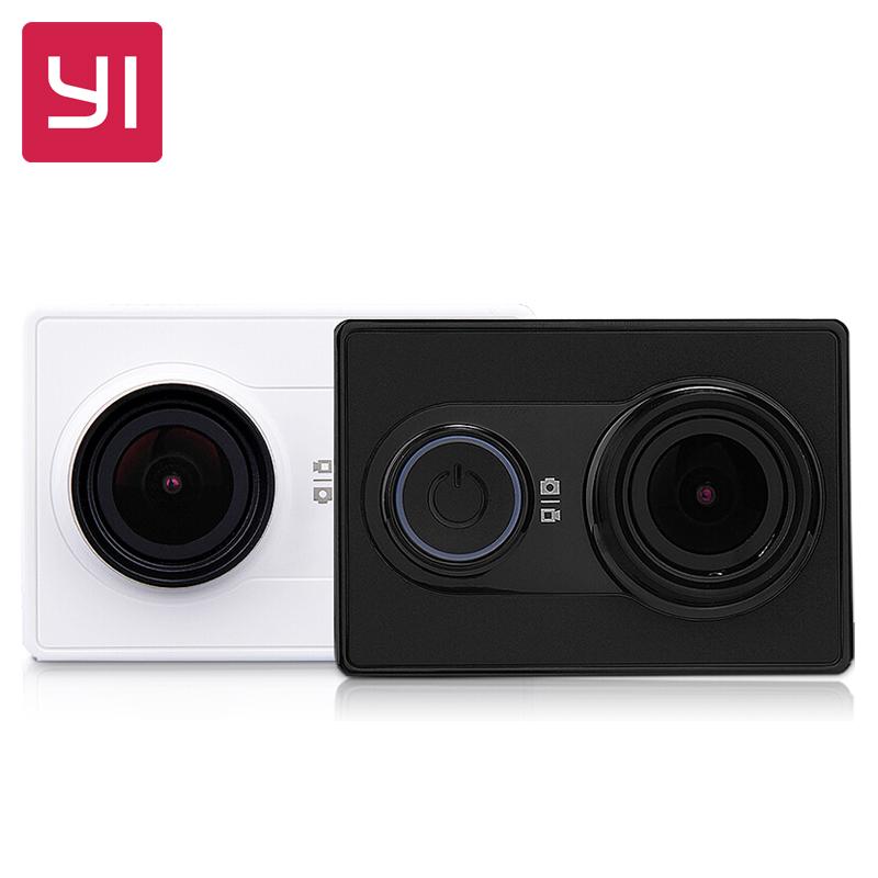 "[International Edition]Xiaomi Xiaoyi YI WiFi Action Camera Ambarella A7LS 155"" 1080P 60fps Sports Camera 3D Noise Reduct H.264(China (Mainland))"