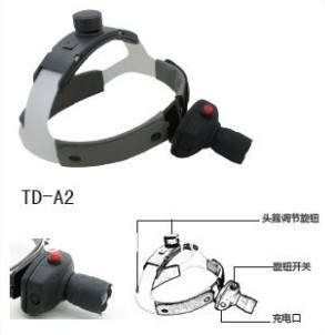 Free shippping, Medical 3W LED surgical Head light / ENT Headlight / Medical headlamp(China (Mainland))
