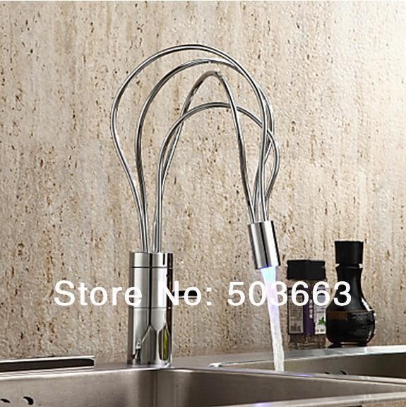New Design Soild Brass Kitchen Sink Basin Chrome Single Handle Vessel Vanity Construction Real Estate MF