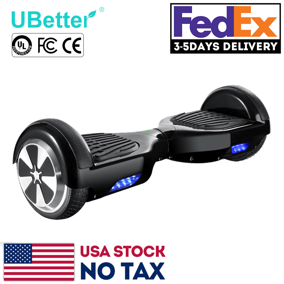 Unwheel Self Balance Scooters 6.5'' Smart Balance Hover Board Electric Hoverboard Skateboard Unicycle Original Battery USA Stock(China (Mainland))