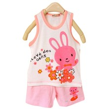 1 pieces 100% cotton Brand New Baby Set Children's set kid's t-shirts for boys girls t-shirt+pants undershirt Shorts clothing