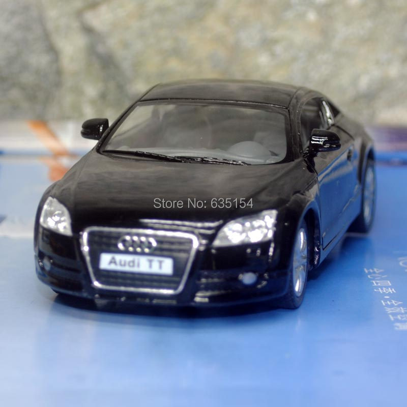 Brand New 1/32 Scale KINGSMART Pull Back Car Toys 2008 Audi TT Diecast Metal Car Model Toy For Children/Gift/Collection(China (Mainland))