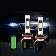 Buy SEALIGHT H8 H9 H11 LED 50W 8000LM CSP Chips Bulbs Car-Styling Headlight Bulbs 6000K 12V LED Lamp Replacement HID Xenon Headlamp for $26.70 in AliExpress store