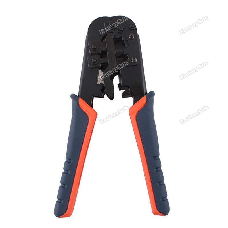 factorysale RJ45 RJ11 RJ12 Wire Lan Network Cable Crimper Crimp PC Network Tool 8P 6P 4P #6 Save up to 50%(China (Mainland))
