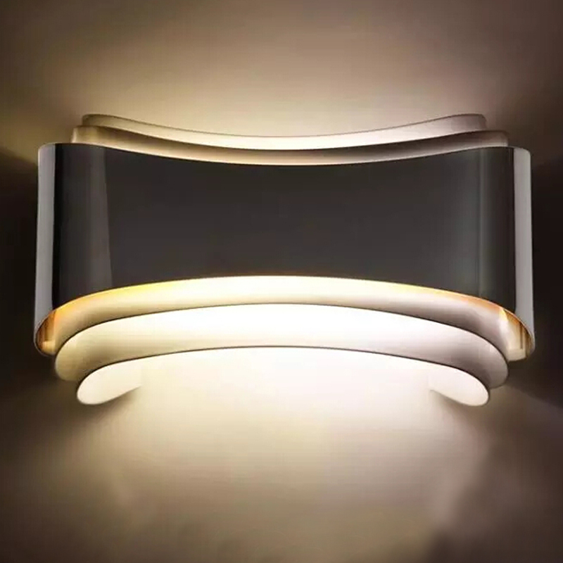 Decorative Wall Lights For Bathroom : W modern iron led wall lights bulb lamp v