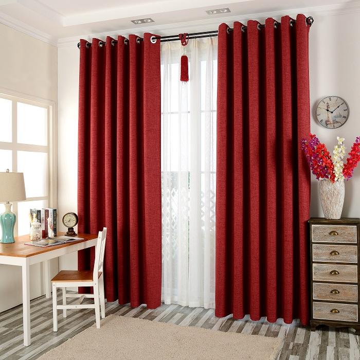 Porte rideau occultant promotion achetez des porte rideau for Rideaux porte fenetre salon