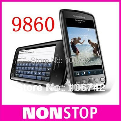 9860 Original unlocked blackberry Torch 9860 mobile phone,3G,WiFi,GPS,5.0MP ,touch screen,PIN+IMEI Valid(China (Mainland))