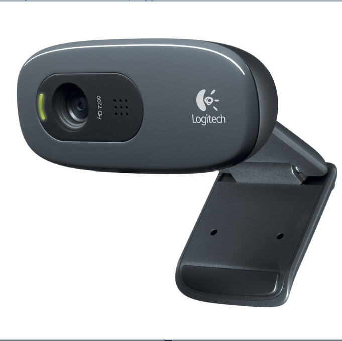 Гаджет  Logitech C270 HD Vid 720P Webcam With MIC Micphone Video Calling For Android TV High Quality Oiginal Webcams None Компьютер & сеть