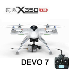 Walkera QR X350 Pro FPV GPS RC Quadcopter DEVO 7 For Gopro 3 RTF (Mode2) Cheap drone good quality