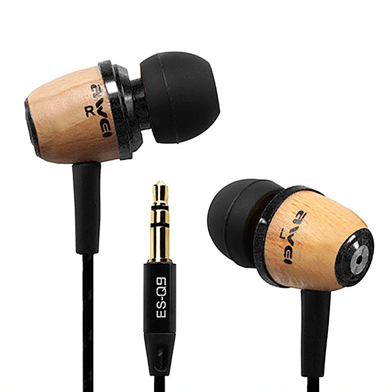 Brand Earphone Q9 Super Bass Noise Isolation In Ear Metal Music Headphone 3.5mm plug(China (Mainland))