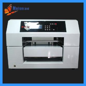 Flatbed uv printer wedding card printer uv led lamp printer custom phone case printing machine HAWN LED MINI4(China (Mainland))