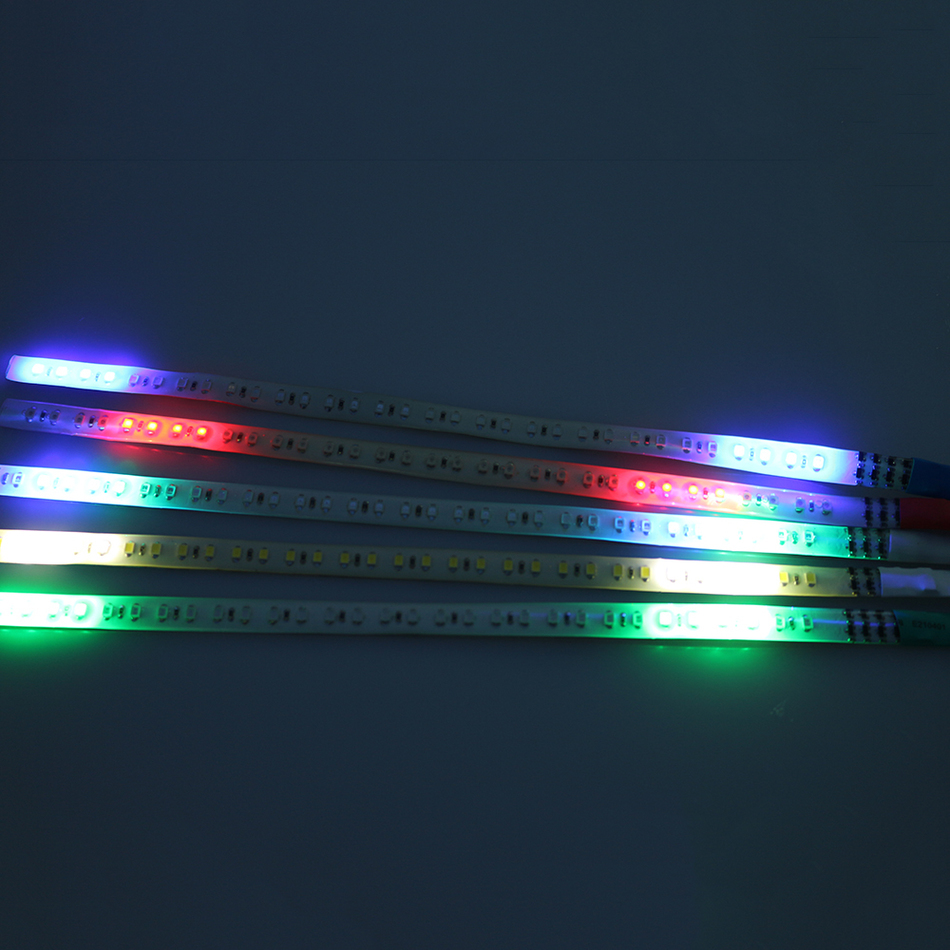 30Cm LED Knight Rider Car Lights LED Daytime Running Light Waterproof Flexible Strips Car Strobe Flash Warning Decoration FJ(China (Mainland))