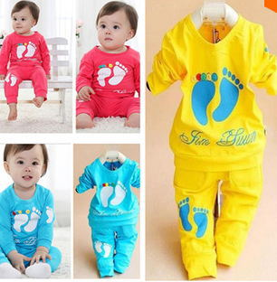 2015 High Quality 100% Cotton brand baby carters clothing set,Toddlers children set,baby clothing boys girls 2 pcs baby wear(China (Mainland))