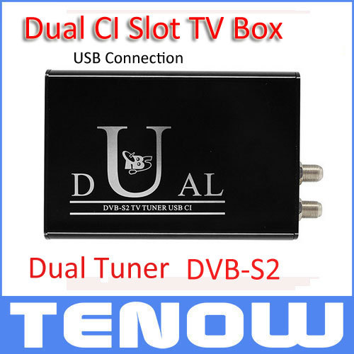 Powerful! TBS5990 DVB-S2 USB Dual Tuner Dual CI TV Box for Watching and Recording Digital Satellite TV 2014 World CUP on PC(China (Mainland))
