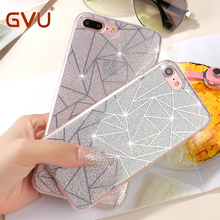 Buy GVU Apple iPhone 6 6S plus Phone Case iphone 7 7 plus Soft Gel TPU Back Cover Bling Glitter Shimmering Protective Shell for $2.23 in AliExpress store