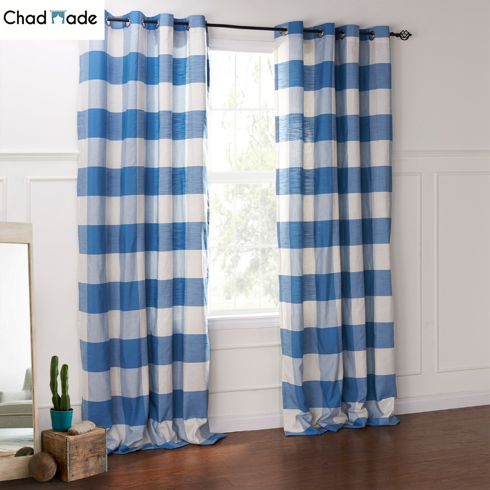 Compare prices on crochet kitchen curtains online shopping buy low price cro - Rideaux bleu turquoise ...