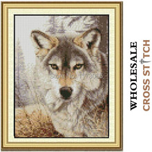 Needlework,DIY DMC Cross stitch,Sets For Embroidery kits,the wolf decro  Counted Cross-Stitching,factory direct sale