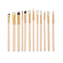 Buy 12 Pieces/set Pro Beauty Makeup Brushes Set Foundation Powder Eyeshadow Eyeliner Lip Blush Make Tools Pincel Maquiagem nz17 for $3.02 in AliExpress store