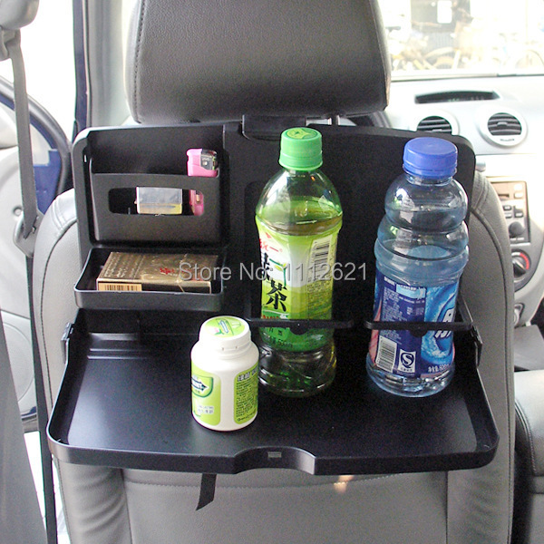 Multifunction Back Seat Tray Table Glove Pallet Large Folding Dinning Table Computer Rack/ Desk Car Accessories(China (Mainland))