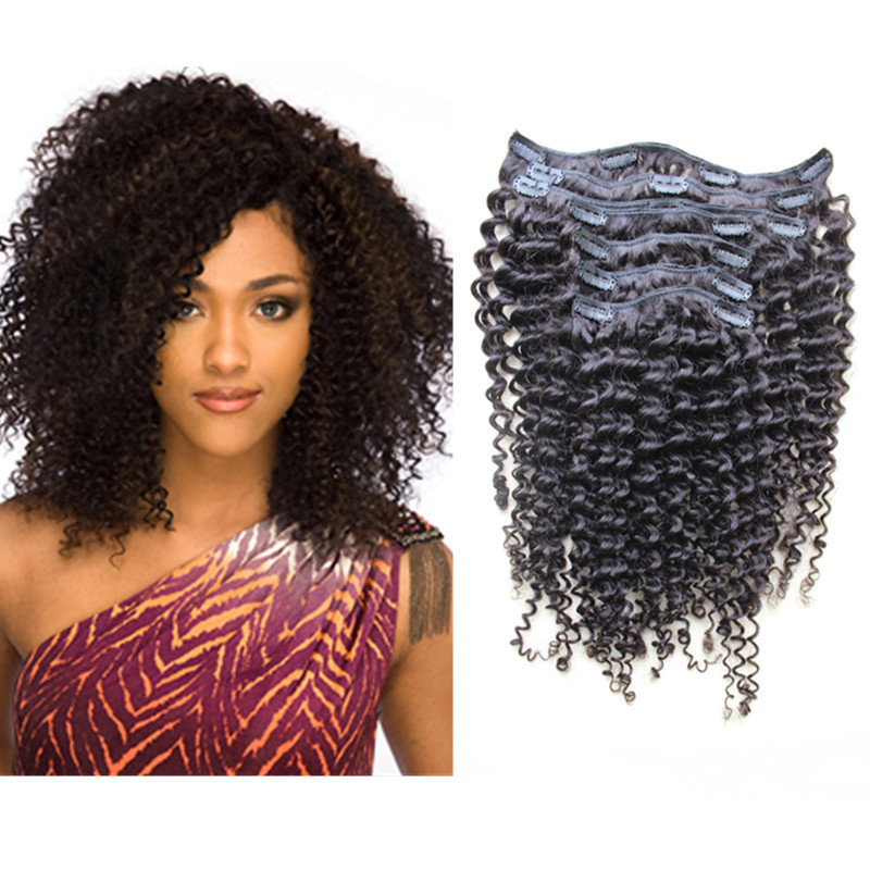 Natural Curly Hair Extensions Quality Hair Accessories