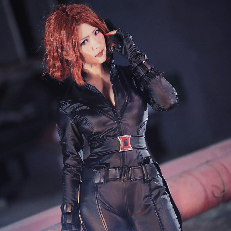 how to make black widow costume marvel