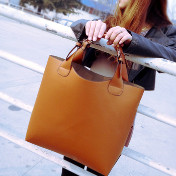 Hot sale!!!! New 2014 Women's handbag leather fashion big bag handbag  shoulder bag women's bag
