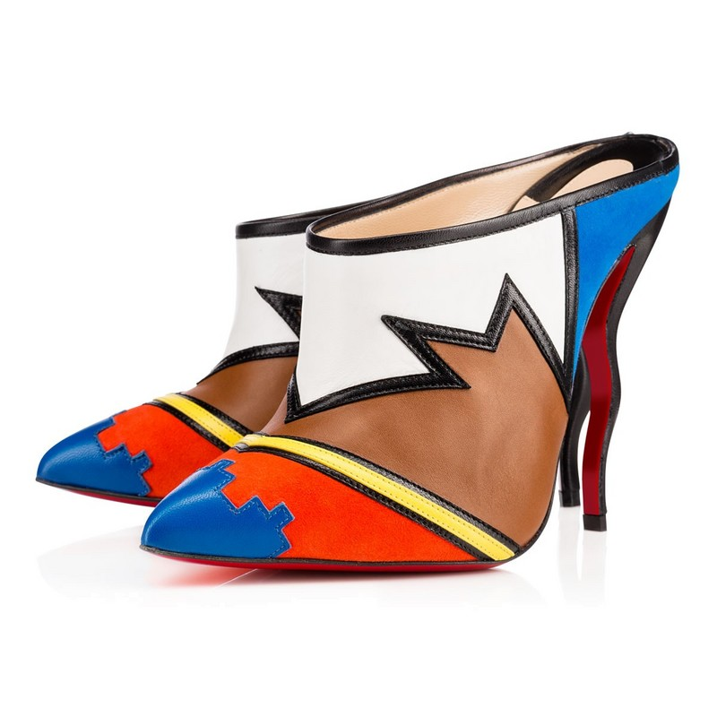 Summer Style Fashion Women Sandals Mixed Color Strange High Heels Dress Shoes Sexy Pointed Toe Pumps  Women Slippers Hot Click<br><br>Aliexpress
