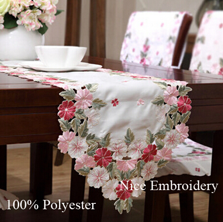 flags table table christmas Luxury table tesco runner  runner table  Embroidery  quality Polyester