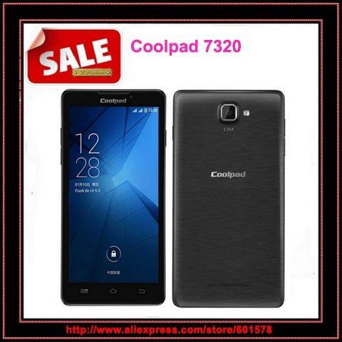 "Original Coolpad 7320 MTK6592 Octa Core mobile phone 1GB RAM 8GB ROM 5.5""HD IPS Android 4.3 Dual SIM 13mp WCDMA Multi Languages(Hong Kong)"