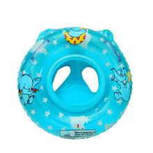 Fashion Baby Items Cartoon Elephant Children's Environmental Pvc Swimming Circle With Handles BB-277(China (Mainland))